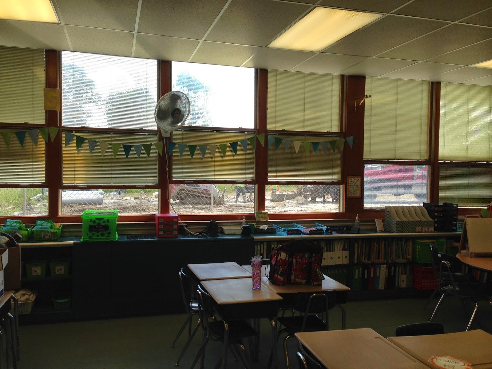 Classroom window - I Used Clear Command Hooks To Hook It To The Windows Ta Da