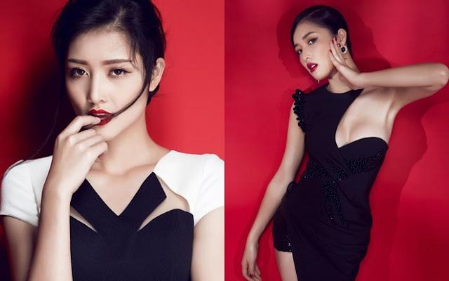Từ đầu năm 2015 đến nay, cô gái dân tộc Nùng lột xác rõ rệt về nhan sắc lẫn phong cách.