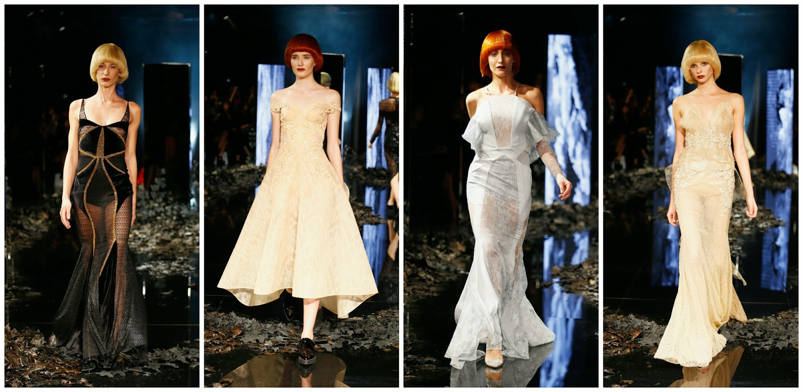 Fashion dust zeynep tosun a w haute couture show the for Haute couture translation
