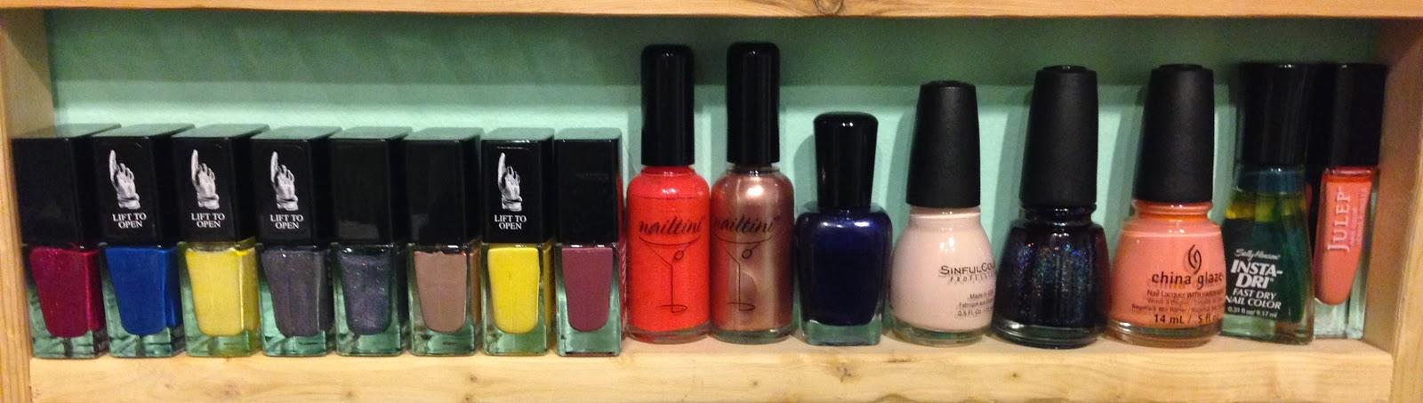 lovelifeoutloud: Nail Polish Collection Part 1