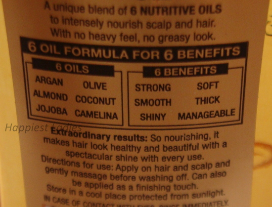 Loreal 6 Oil Nourish Extraordinary Oil