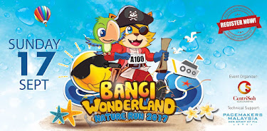 Bangi Wonderland Nature Run 2017
