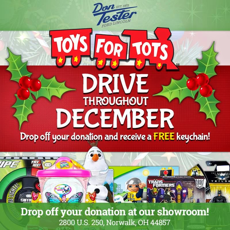 Donate to Toys for Tots at Don Tester Ford Lincoln!