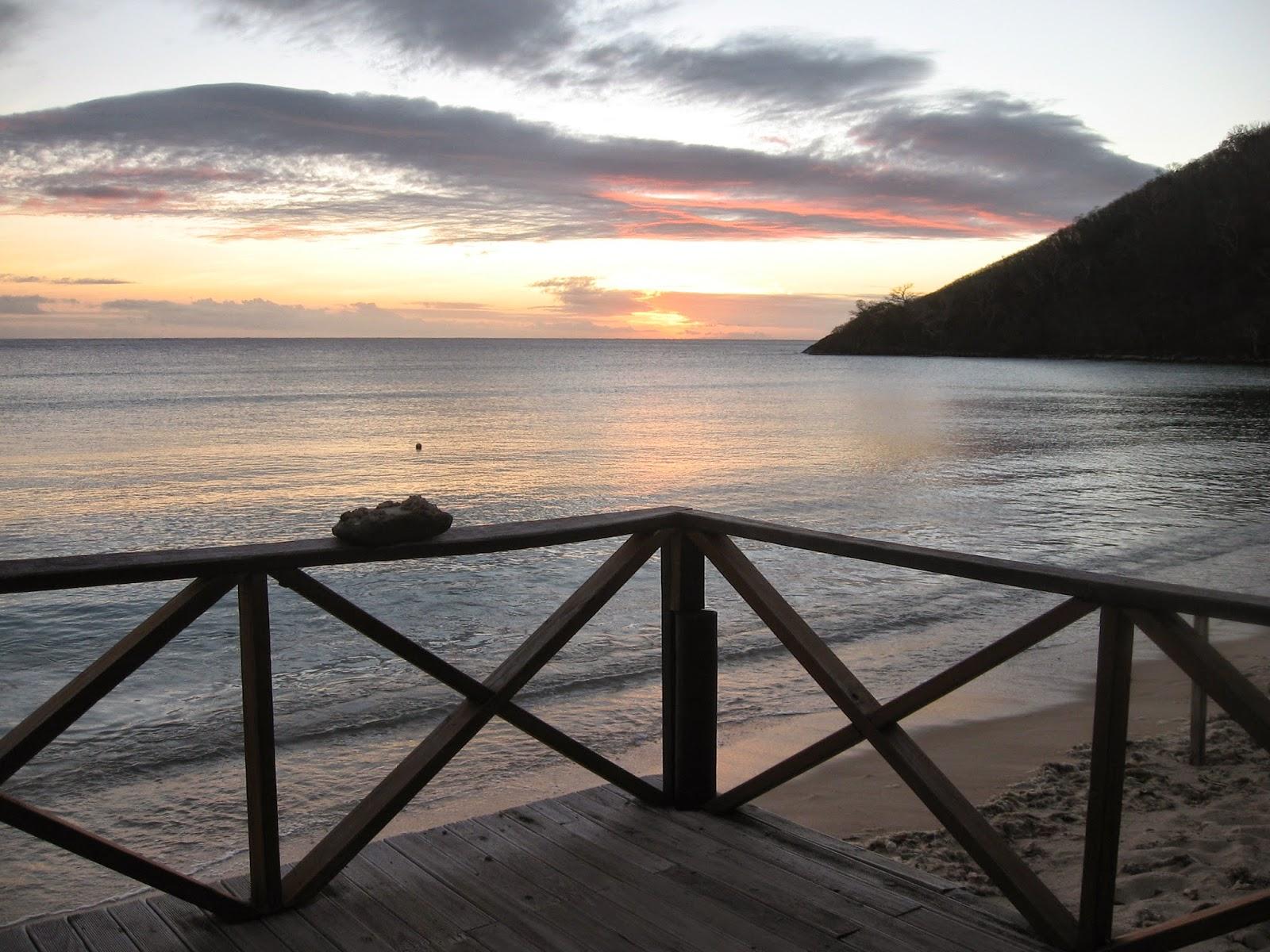 Sunset in the Yasawa Islands, Fiji
