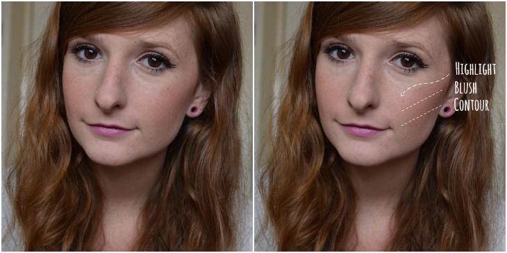 How to contour using makeup