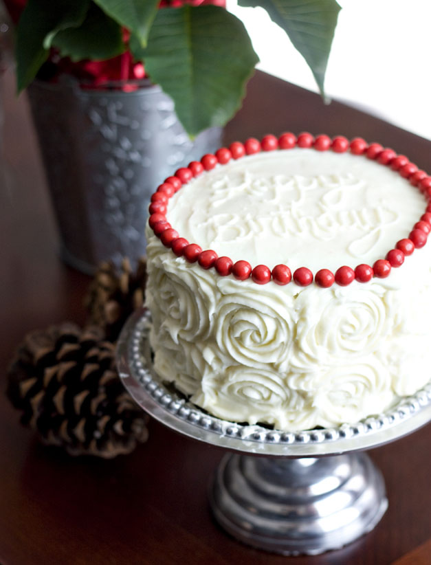 Ericas Sweet Tooth Red Velvet Cheesecake Layer Cake