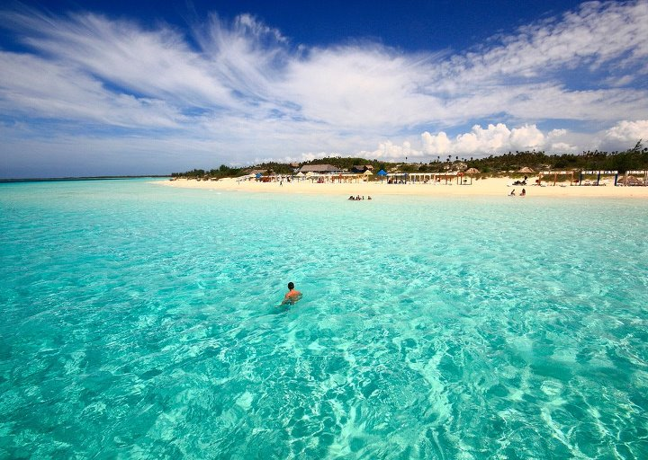 Clearest Water In The World Cayo Coco Entertainment Enter