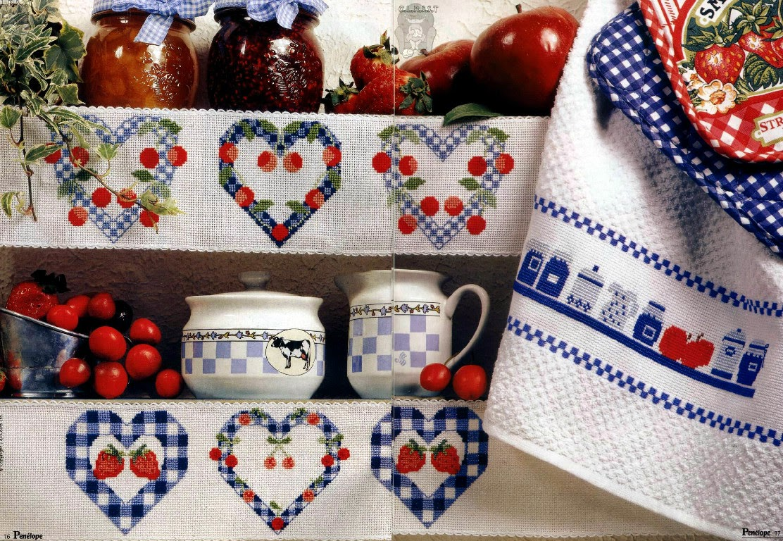 Вышивка для кухни прованс