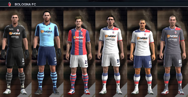 PES 2012 Bologna 2012/13 Kits by Vinvandam13