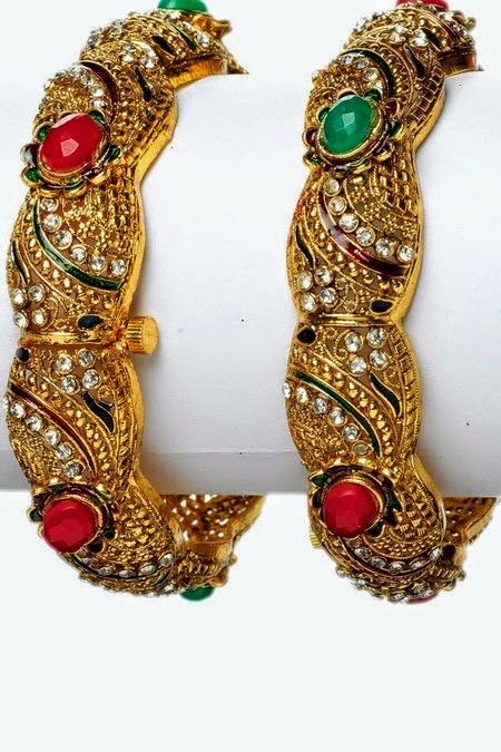 Latest Designer Bangles for Parties