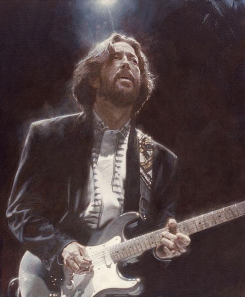 Eric Clapton - New Pop Realism - Sebastian Krüger 1963