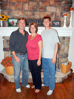 Skyler and his family in Rochester, New York