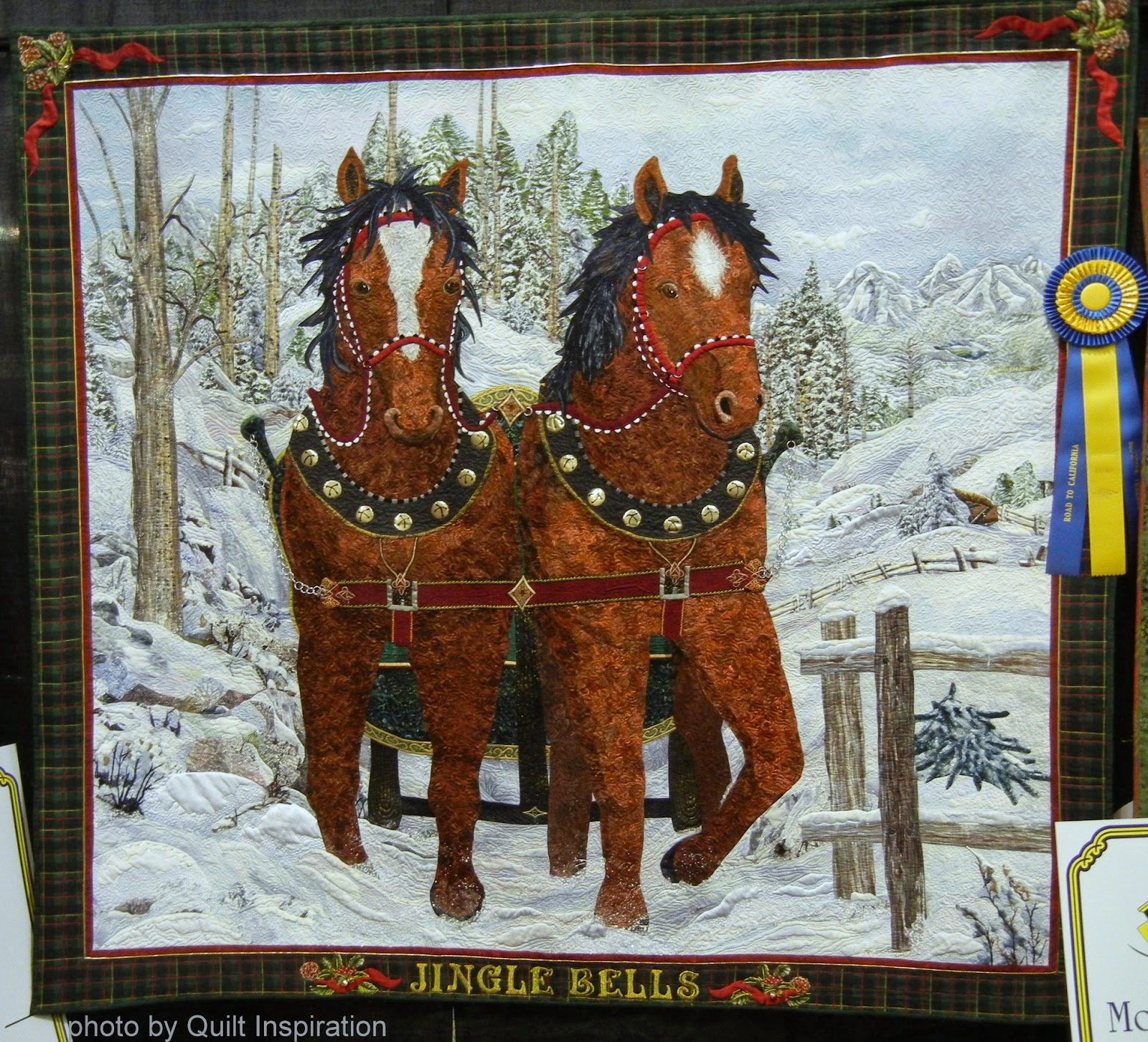 Quilt Inspiration: Happy (quilted) Holidays! The Best of Christmas ... : california quilt shows - Adamdwight.com