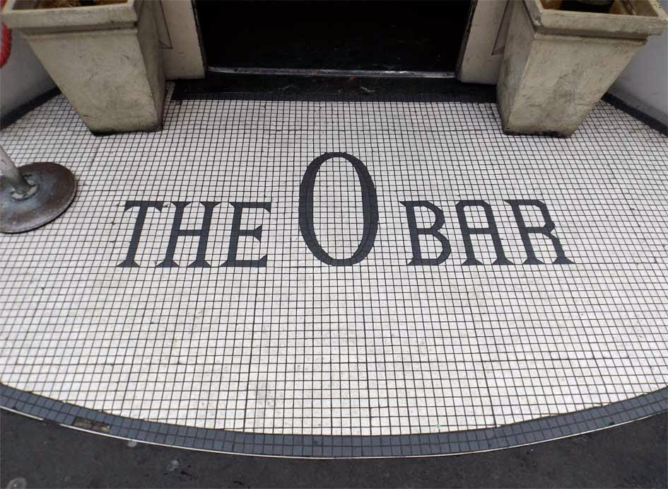 o bar mosaic london