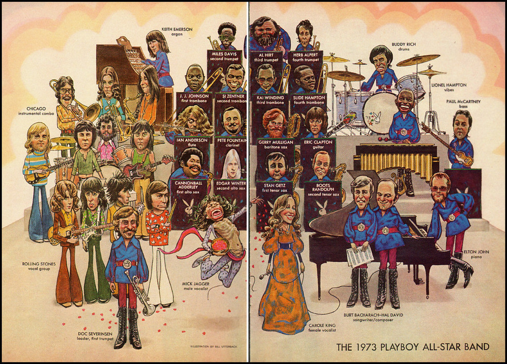Cartoon Jazz Band Playboy All Star Jazz Band