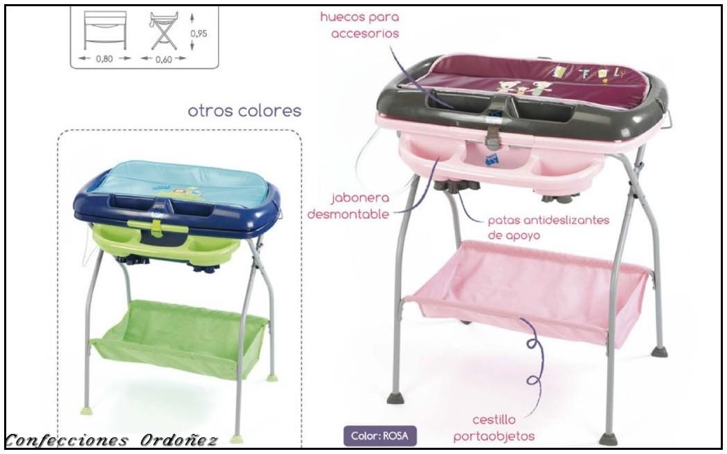 Confecciones ordo ez ba era tijera modelo duero Patas para banera bebe