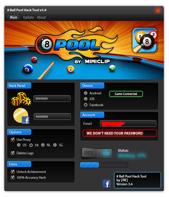 Pool live tour cheat tool v4 2 s
