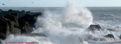 Photo de couverture facebook mer agitée 1
