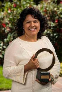 Berta Cáceres South and Central America 2015 Goldman Prize Recipient