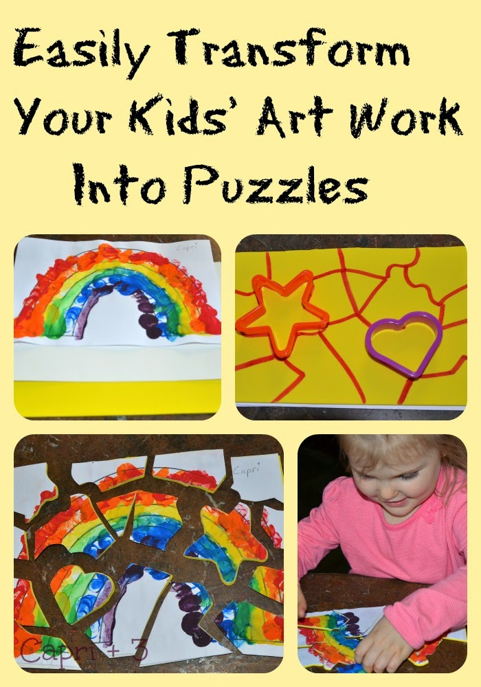 Turn Puzzles Into Pictures to Turn it Into Puzzles