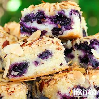 ... Roasted Italian - Printable Recipes: Blueberry Almond Breakfast Cake