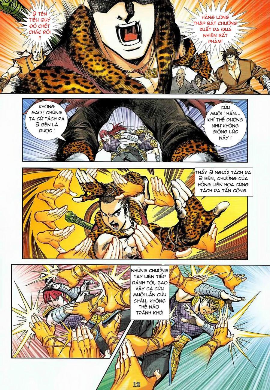 Thần Chưởng Long Cửu Châu chap 8 - Trang 12