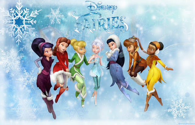 zWinter,Disney,Fairies,Christmas coming wallpapers