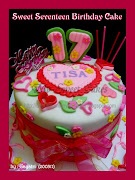 Sweet Seventeen Birthday cake