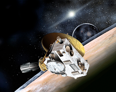NASA's New Horizons Satellite Observing the Pluto-Charon