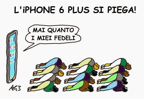 Iphone, Umorismo