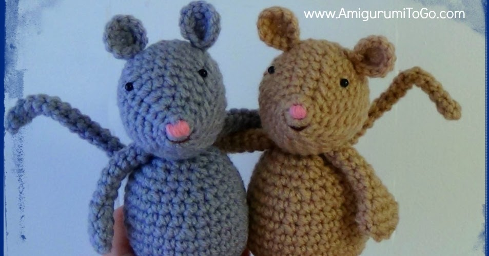 Amigurumi To Go Tutorial : Amigurumi mouse dutch tutorial to go