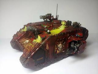 LAND RAIDER BLOOD ANGELS - WARHAMMER 40000