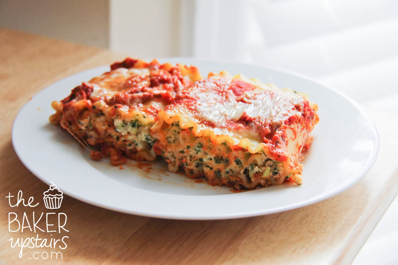 The Baker Upstairs: spinach lasagna rolls