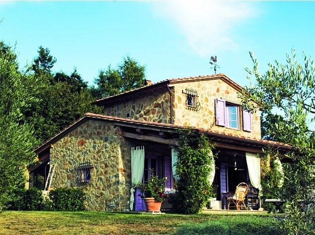 Charming tuscany country house with provencal feel Italian country home plans