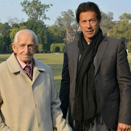 G D Langlands with Imran Khan