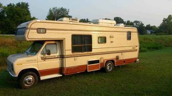 used rvs 1989 ford rv for sale for sale by owner. Black Bedroom Furniture Sets. Home Design Ideas