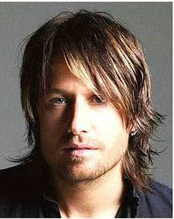 rambut pria panjang