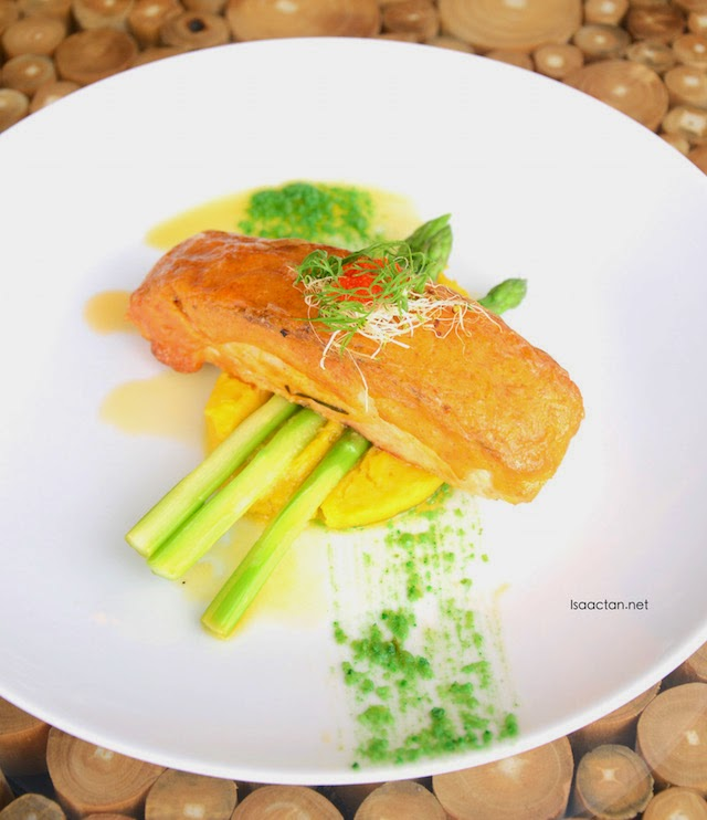 Grilled Salmon - RM48