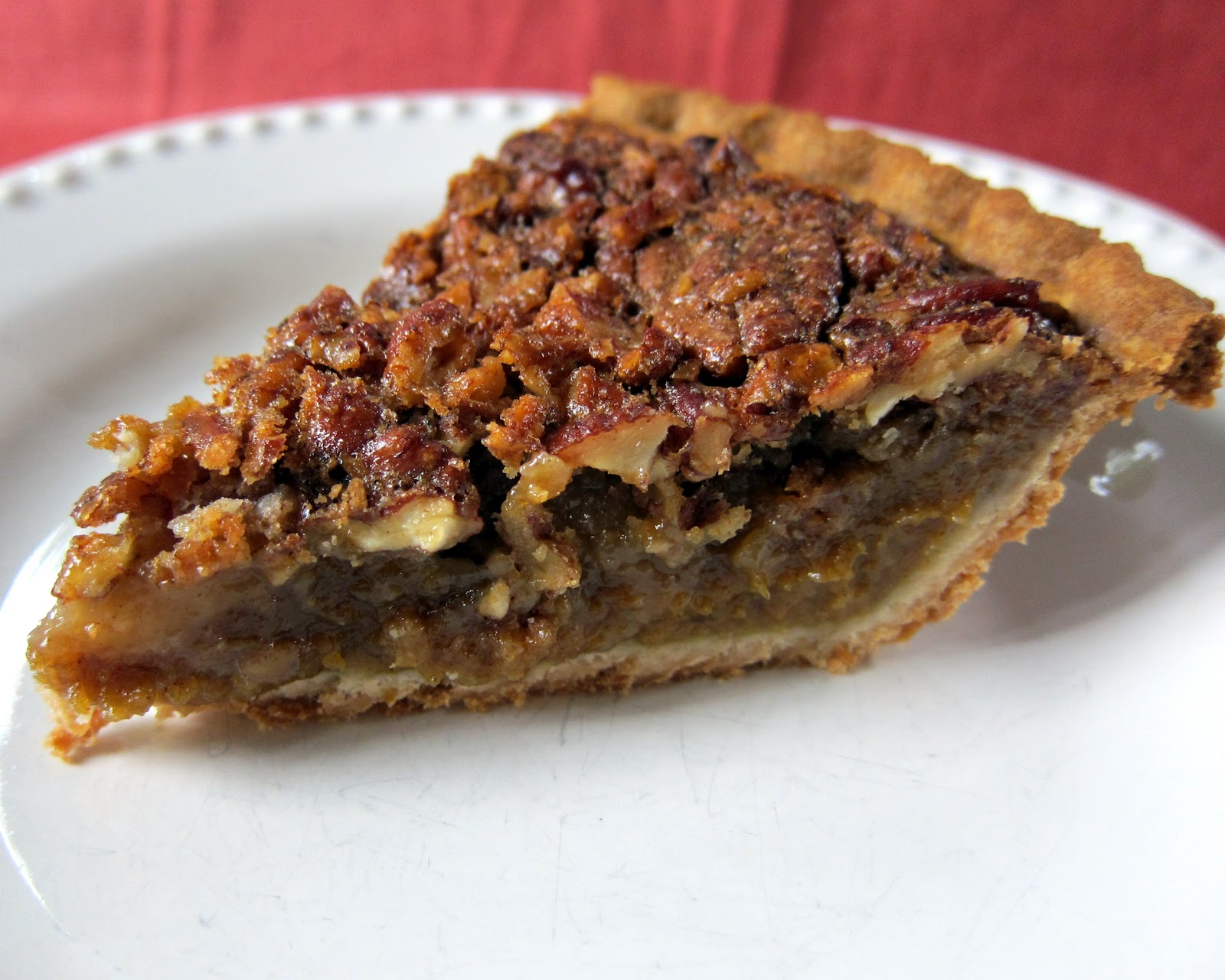 Pumpkin Pecan Pie | Plain Chicken