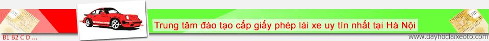 Thi bằng lái xe ô tô đảm bảo đỗ ở Hà Nội