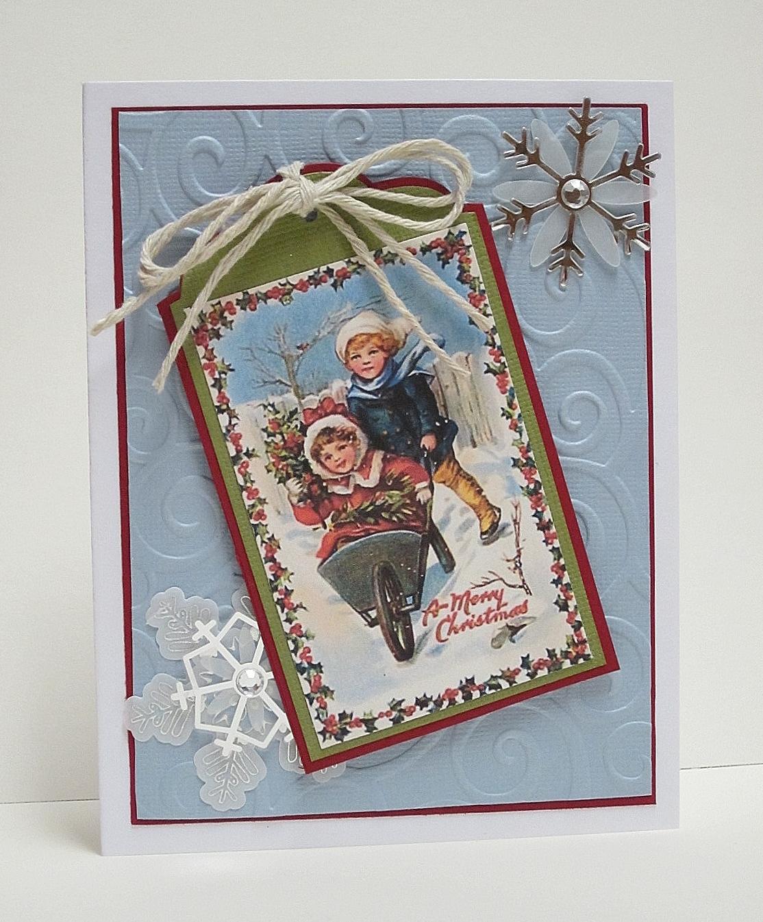 Aspiring To Creativity Christmas Cards For The Grandchildren Part 3a