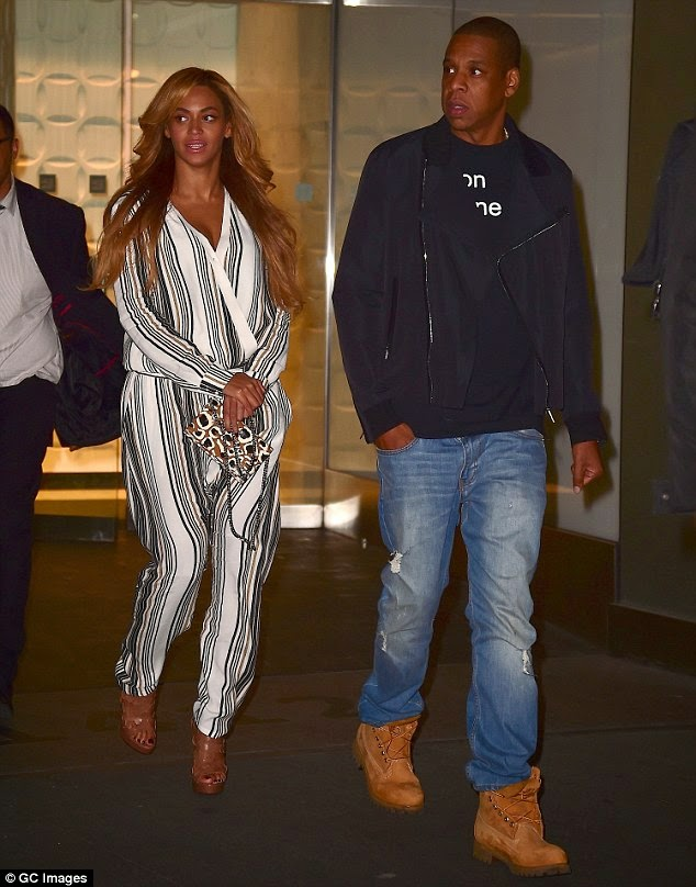 All Is Well With The Carters! Beyonce and Her Boo Step Out On A Date – Photos