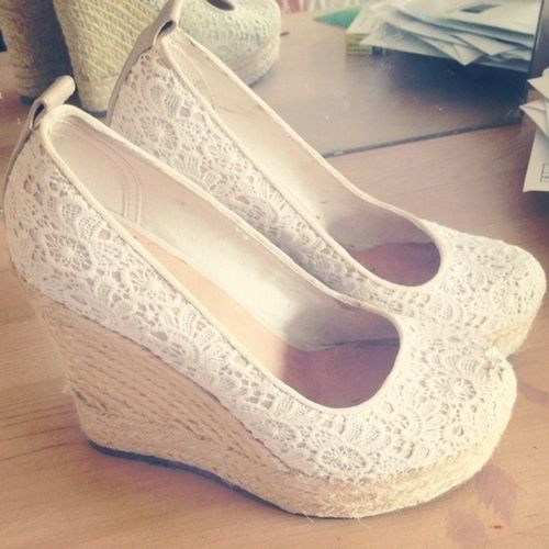 Cute Wedge Shoes