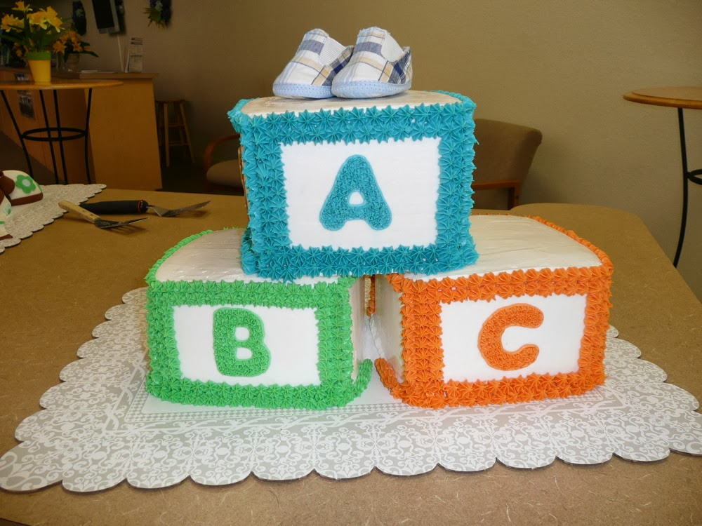 ... and enjoy this delicious baby shower recipe – baby block cake recipe