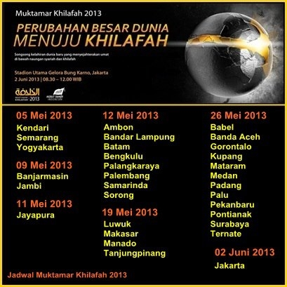 MUKTAMAR KHILAFAH│2013 - PERUBAHAN BESAR DUNIA MENUJU KHILAFAH Jadwal-muktamar-khilafah-2013