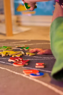 One Activity, Many Ways: Wooden ABC Puzzle | San Antonio Baby Sign Language Classes