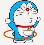 Gambar Doraemon main holahop