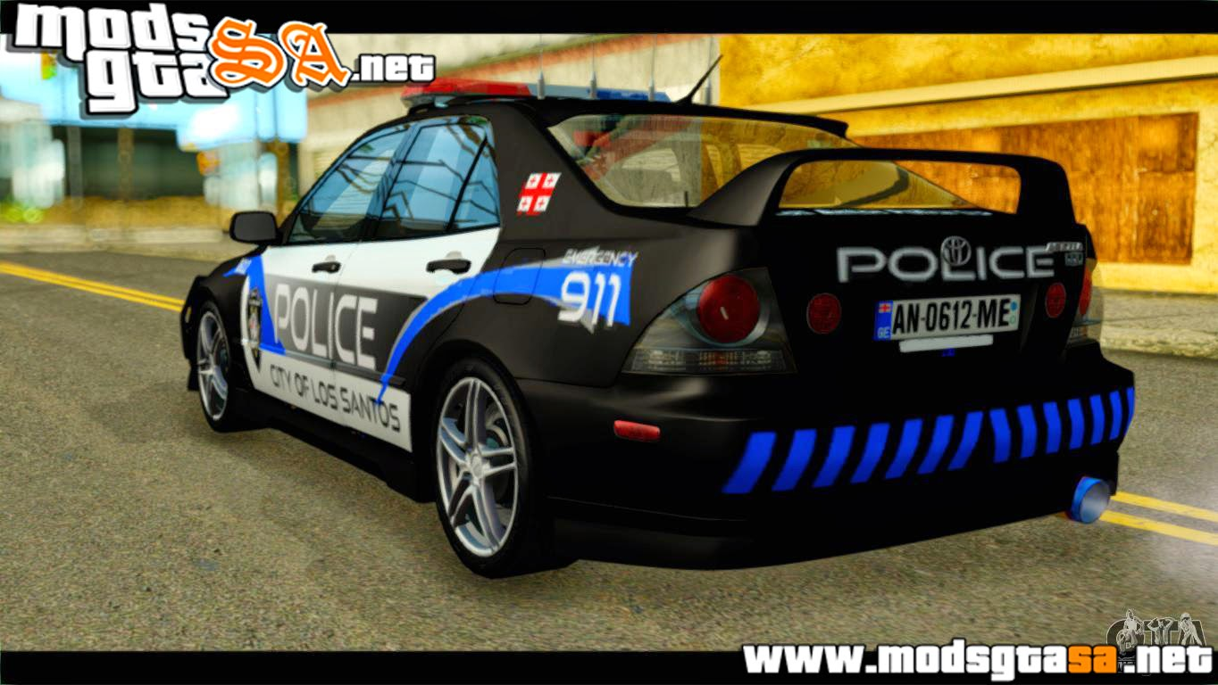 SA - Toyota Altezza Policia