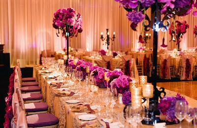 tông màu chủ đạo cho việc tự trang trí tiệc cưới