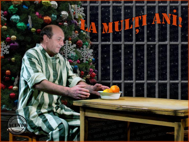Felicitari Funny Photo Traian Basescu Multi Ani